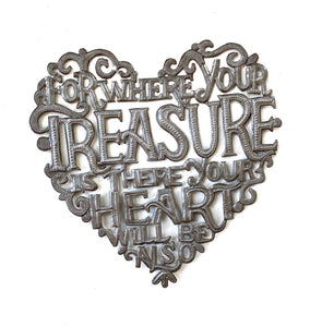 Where Your Treasure Is Heart