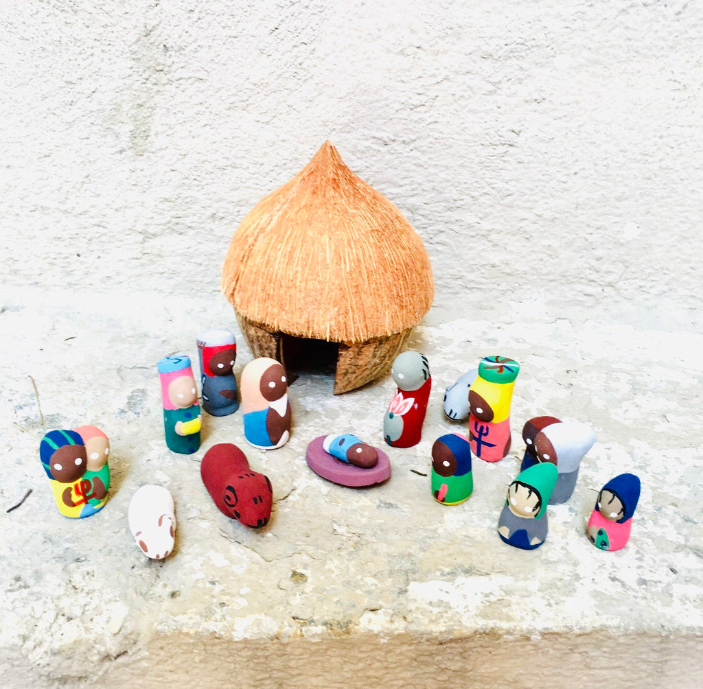 Coconut Nativity