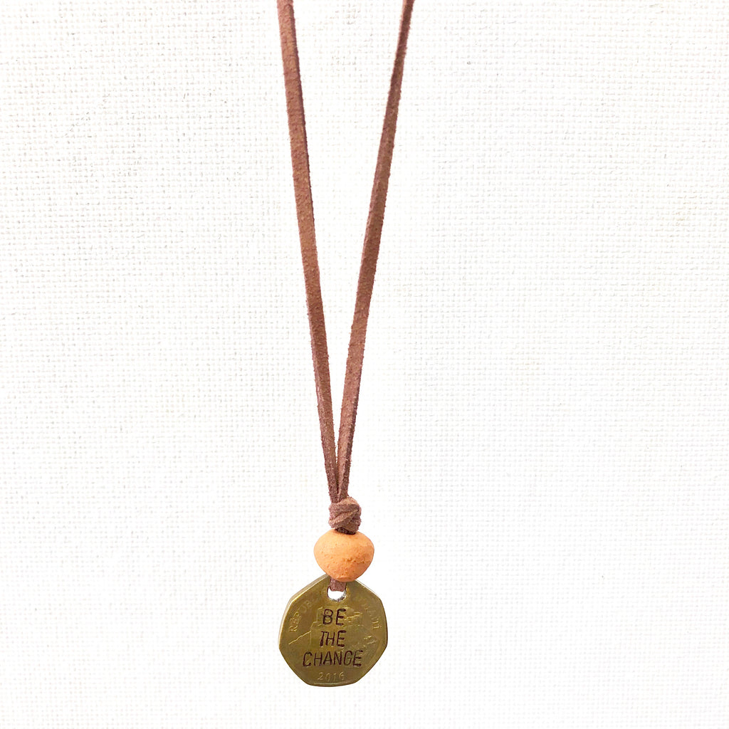 Be the Change Aromatherapy Necklace