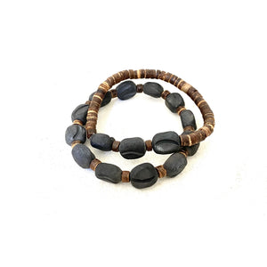 Ceramic Java Bracelet Set