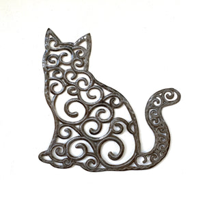 Cat- Large Whimsical