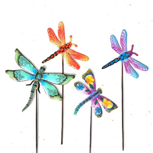 Dragonfly Garden Stake (Set of 4)