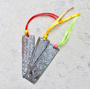 Whimsical Metal Bookmark