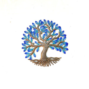 Medium Electric Blue Tree of Life