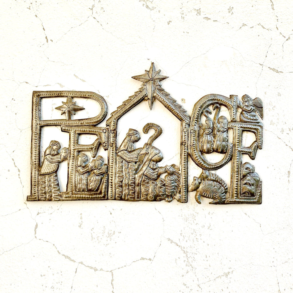 Peace Trifold Nativity
