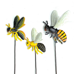 Bee Garden Stakes (Set of 3)
