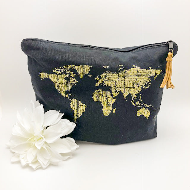 World Traveler Zipper Pouch