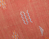 "Cactus Silk Moroccan Sabra Runner - Burnt Orange 3'01""x6'07""ft  (RNS-R20)"