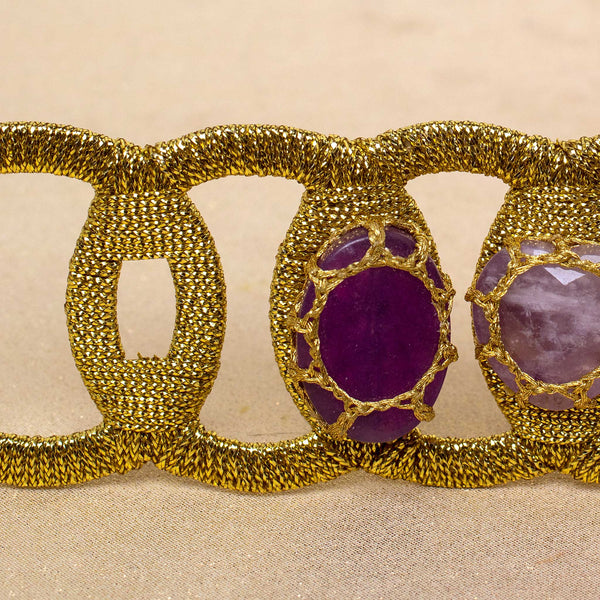 Flex Cuff in Purple