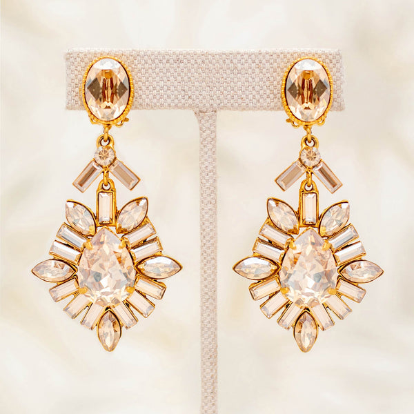 Reveillon Earrings in Champagne