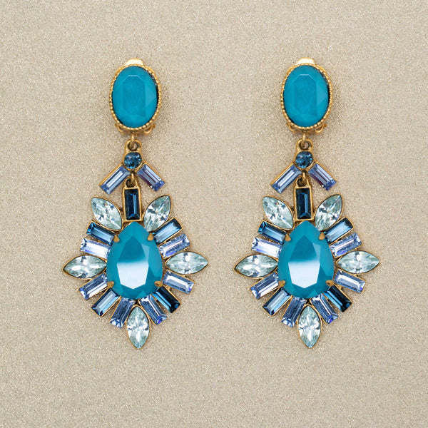 Reveillon Earrings in Blue