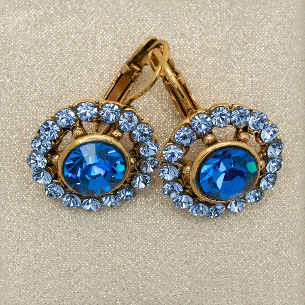 Candela Earrings in Royal