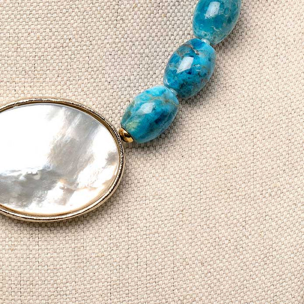Blair Necklace in Turquoise
