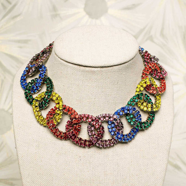 Marylyn Necklace in Multi