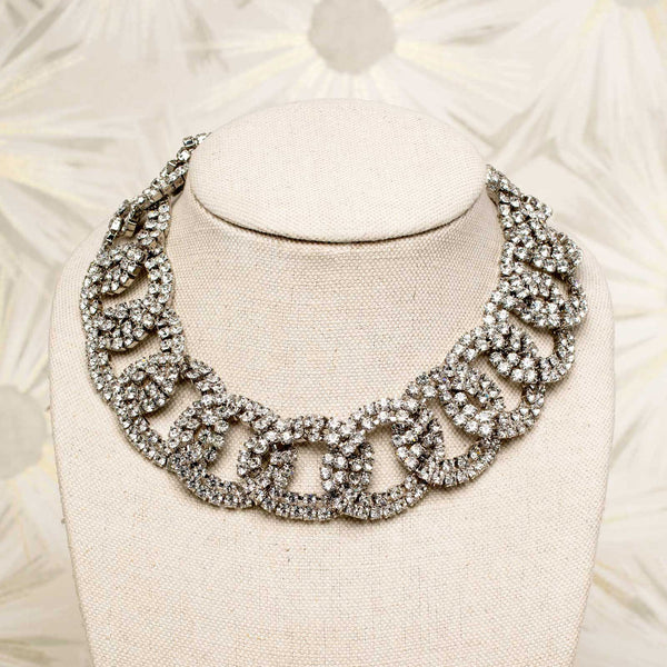 Marylyn Necklace in White Diamond