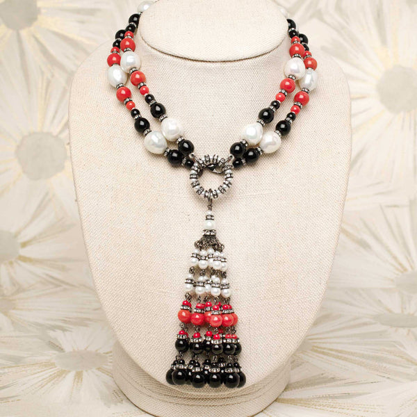 Allegra Tassel Necklace