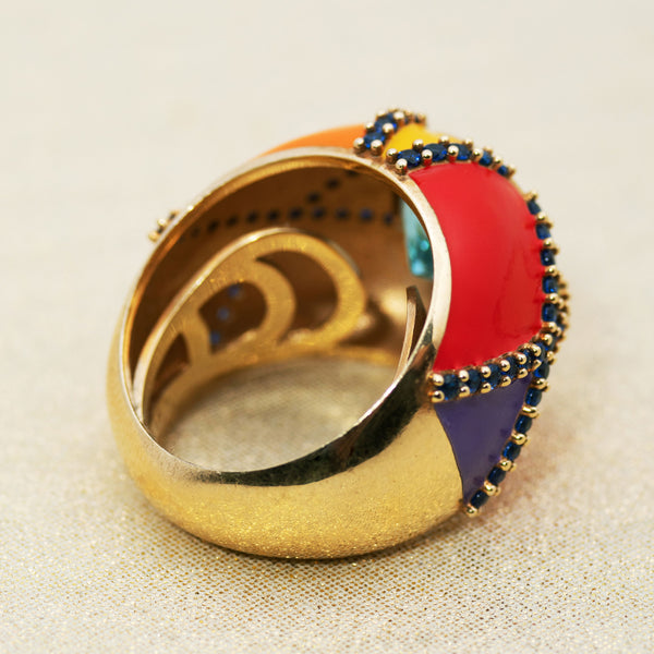 Harlequin Ring in Multi