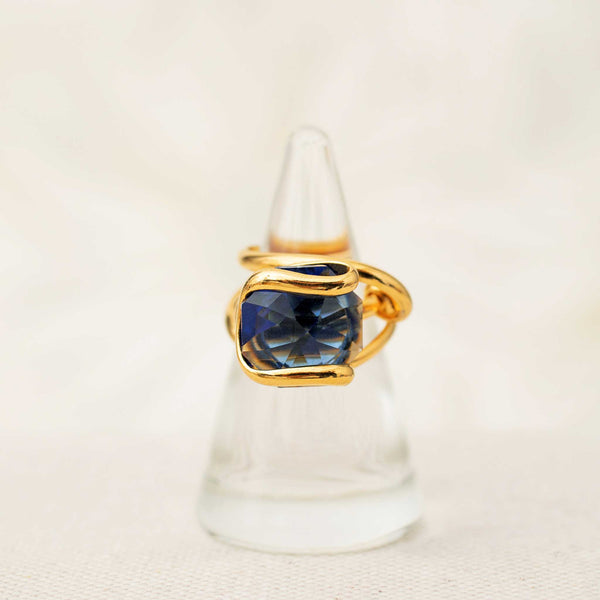 Beacon Ring in Sapphire