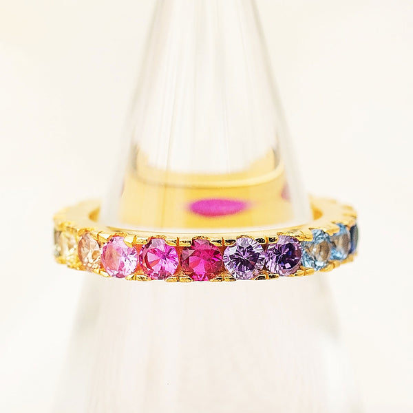 Bliss Eternity Band in Multi