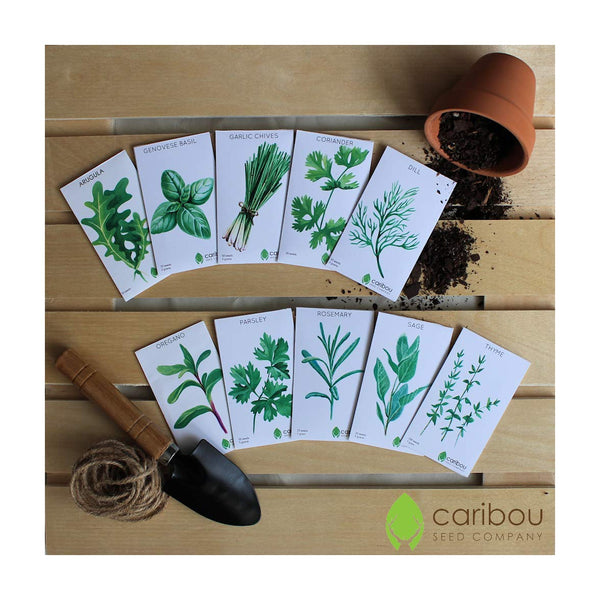 chef's herb garden seed kit - Caribou Seed Company