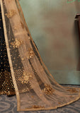 Black & Gold Designer Heavy Embroidered Net Wedding Lehenga Choli-Saira's Boutique