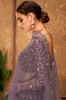 Purple Designer Heavy Embroidered Silk Wedding Lehenga-Saira's Boutique