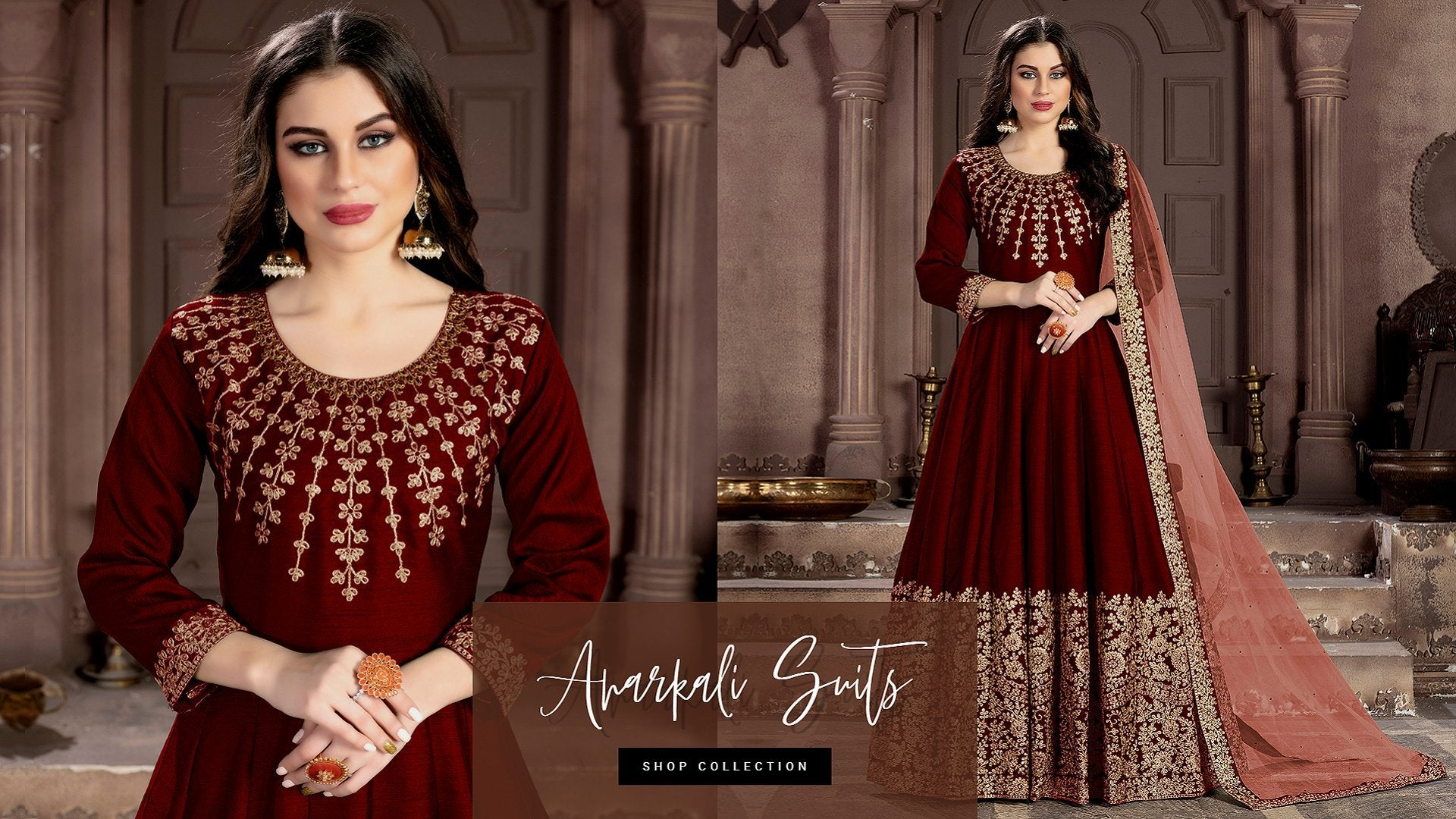 Anarkali Suits - Saira's Boutique