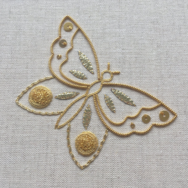 'All that Glitters' Goldwork Embroidery Kit