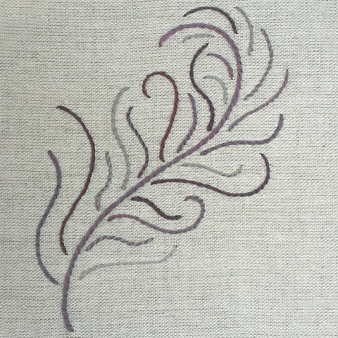 'Feather' Crewel Work Embroidery Kit