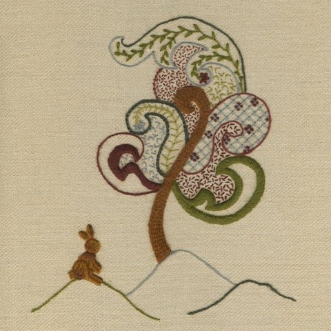 'Tree of Life' Jacobean Crewelwork Embroidery Kit