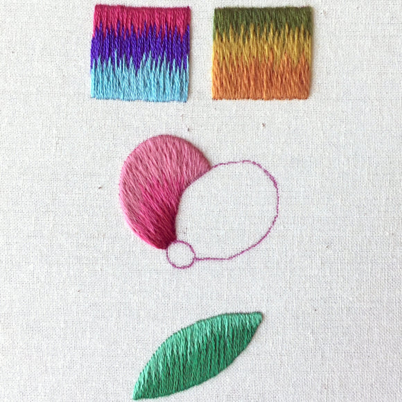 Silk Shading - Back to Basics Online Embroidery Class - July/August 2021