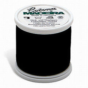 Black Madeira Cotona Embroidery Thread