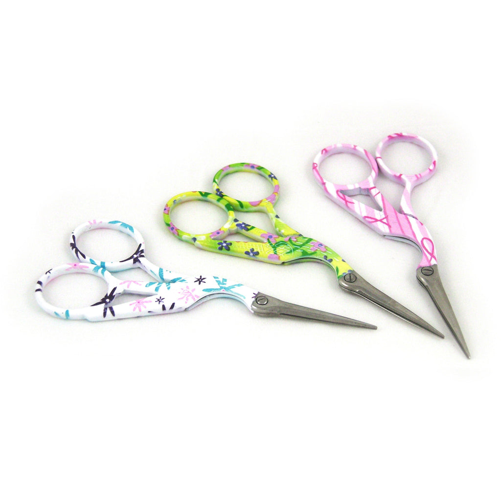 Floral Embroidery Scissors