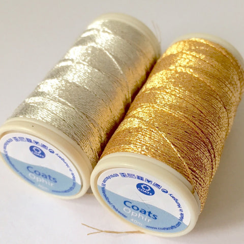 Ophir Metallic Embroidery Thread