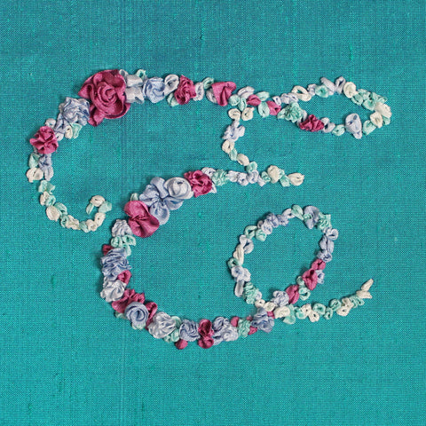 'Monogram' Silk Ribbon Embroidery Kit