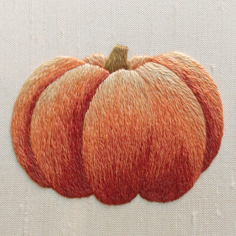 'Pumpkin' Silk Shading Embroidery Kit