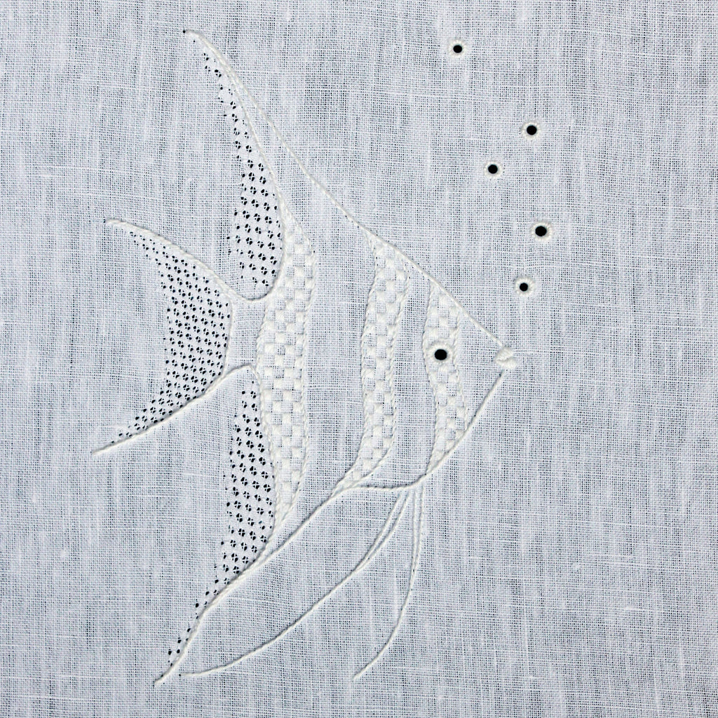 'Angelfish' Whitework Embroidery Kit
