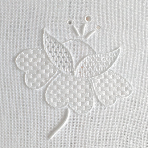 'In Bloom' Whitework Embroidery Kit