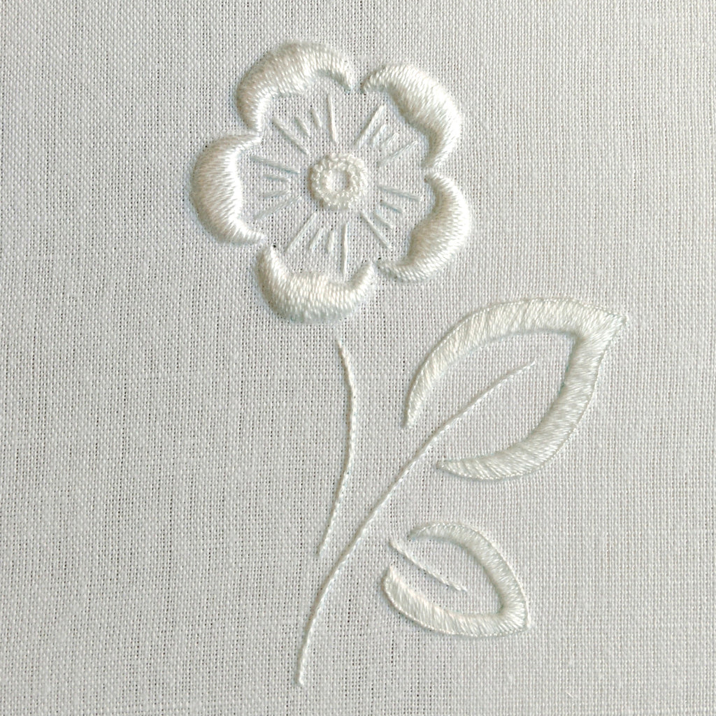 'Tudor Rose' Whitework Embroidery Kit
