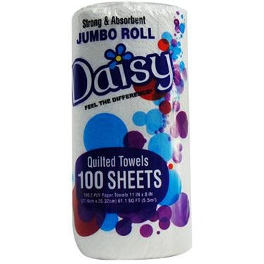 Daisy 100 Count Paper Towel Rolls - American Food Service