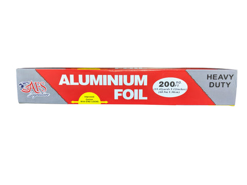 AFSD 12 inch Ultra Aluminum Foil Rolls - American Food Service