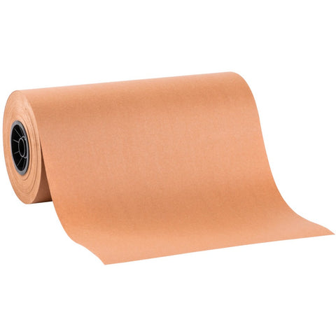 "15"" x 1000'  Peach Butcher Roll  DP15Peach - American Food Service"