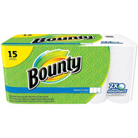 Bounty 15 Rolls Select-A-Size Paper Towels - American Food Service