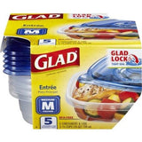 Glad 25oz Food Storage Containers Entire Container - American Food Service