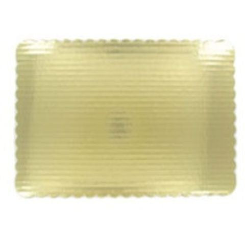 1/4 Gold Sheet 13.75x9.75 Corrugated Pad - American Food Service