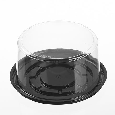 "6"" Cake with 4"" Deep Plain Dome Combo - American Food Service"