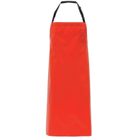 Red Vinyl Apron Lightweight - American Food Service