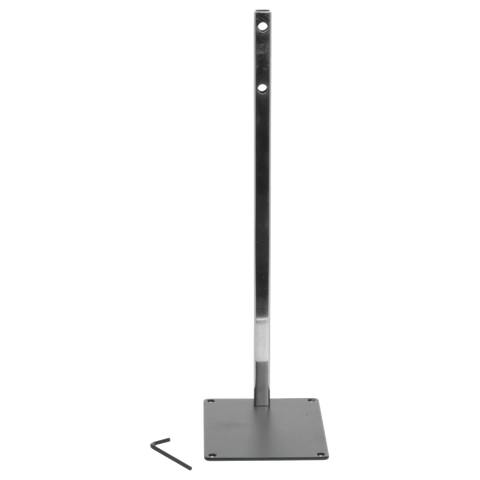 Take-A-Number Black Metal Ticket Dispenser Counter Stand - American Food Service