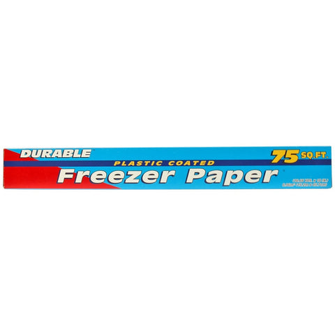 Durable Plastic Coated Freezer Paper 18inch - American Food Service
