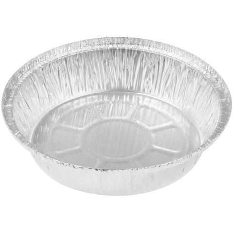 AFSD 7 inch Round Foil Take Out Pans - American Food Service